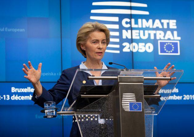 Ursula Von der Leyen green deal