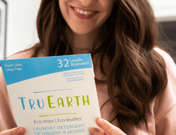 tru earth, sustainable laundry strip