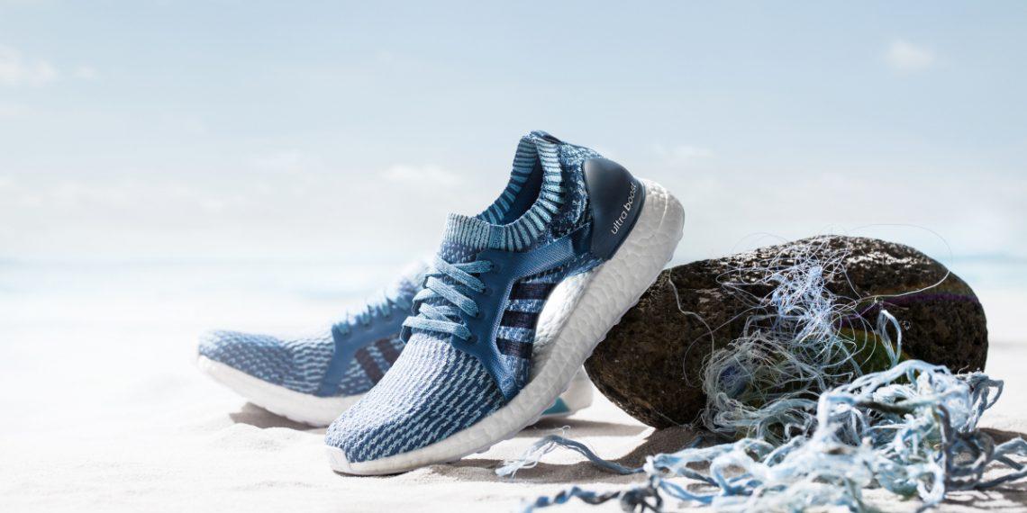 sustainable circular fashion, adidas parley shoes