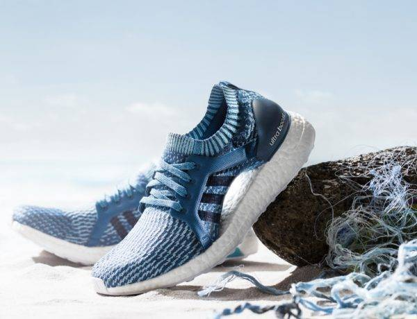 sustainable circular fashion, adidas parley shoes