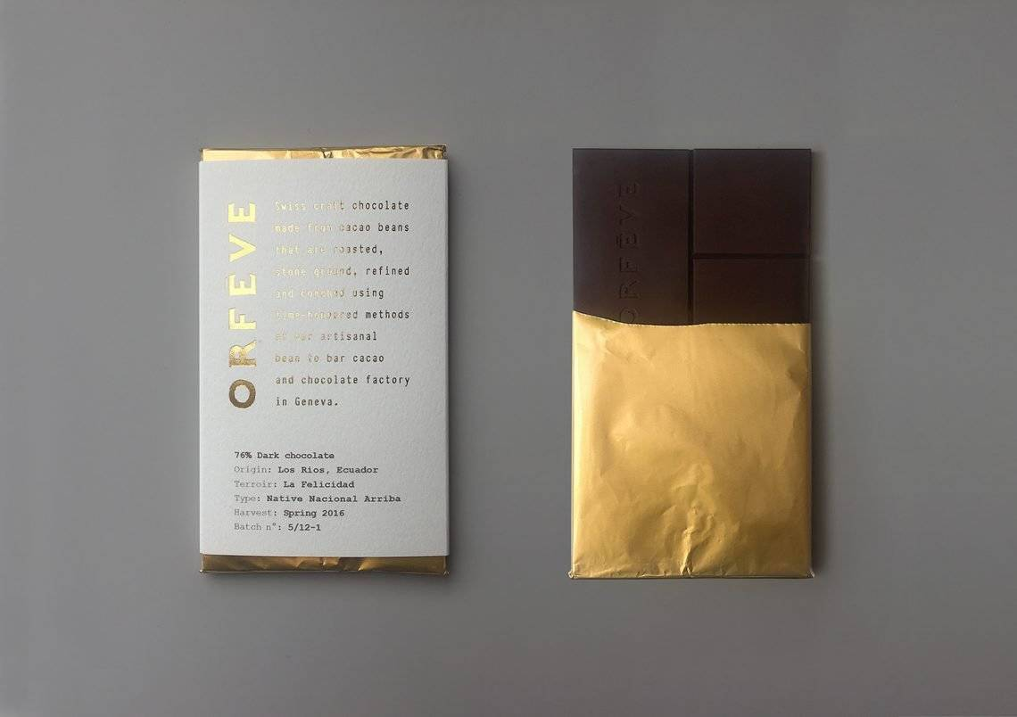 sustainable chocolate orfève